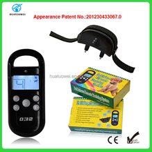 Electronic dog training collars rechargeable no bark collar for dog training pet product in stock