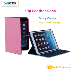Shockproof leather case for iPad mini 2, ultra thin flip cover diary pattern case