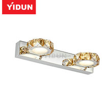 LED mirror lamp + simple design + security + LED power supply + does not rust the bathroom light + surface mounted + Easy instal
