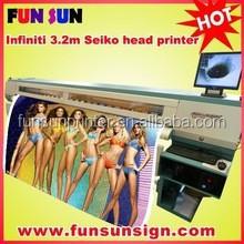 Factory price !!! Original Challenger / Infiniti inkjet solvent large format printing service (spt510/35pl ,6head ,6color )