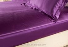 Pure Silk Satin Bed Sheets,Silk Quilt Sheet Set