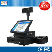 17'' All In One Touch Screen Restaurant POS terminal with Thermal Printer