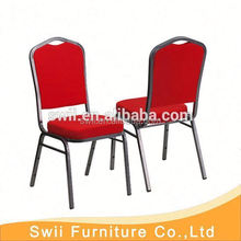 cheap wholesale stacking banquet chair/dining room chairs stackable iron banquet chair