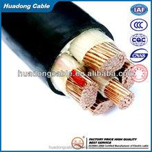 BU 3x16x0.6/1KV Offshore Power Cable 90deg C Outer Sheath - Black Colour LSZH Flame Retardant