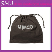 High quality brown suede bag
