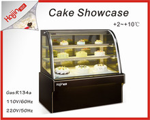 Article elegant marble base for cake display fridge with wooden package