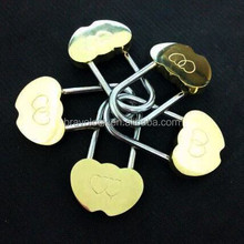 Double Heart Padlock, Wish Lock, Love Padlock