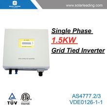 Pure sine wave on grid solar inverter also called dc ac solar inverter for on grid solar system