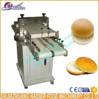Hamburger Stainless steel automatic bread cutting/slicing machine price bread slicer