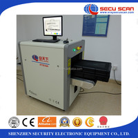 Xray baggage scanner AT5030A x-ray inspection system to find the threats in the baggage