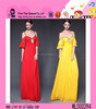 2015 Latest Hot Sexy Strap Long Style Dress OEM Price Charming Girl Dubai Design Evening Dress