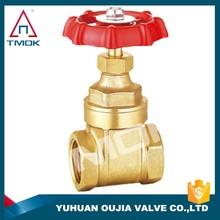 stem gate valve brass material prolong BSP thread got stock butt weld gate valve