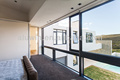 moderna casa de casa de diseño de la ventana corredera