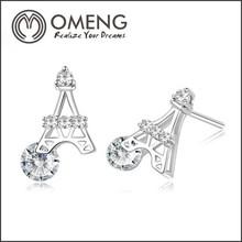 Beautiful Oxidized 925 Sterling Silver Earring, Fine Silver Jewelry, Indian Silver Jewellery