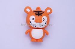 New desing Cute tiger usb flash drive 8gb