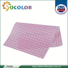 2015 high quaality 2012 Xiongxing Facotry Pvc Floor Film Anti Smooth for raincoat and tablecoth