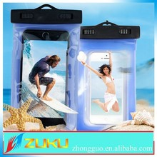2015 summer newest design pvc string arm band waterproof pouch for samsung galaxy s5