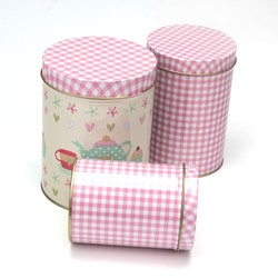 TB0057 New Design Cylindrical Cans| Cookie Biscuit Box| Fashion Box