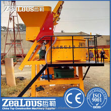 2015 new condition electric portable concrete mixer skid steer concrete mixer for sale