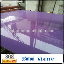 Quartz Based Engineered Stone / Man Made Quartz Stone / Purple Quartz Stone
