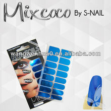 hot sale metallic nail sticker nail foil adhesive wholesale