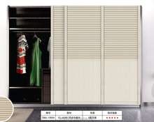 2015 HOT Sell wood louvered closet doors