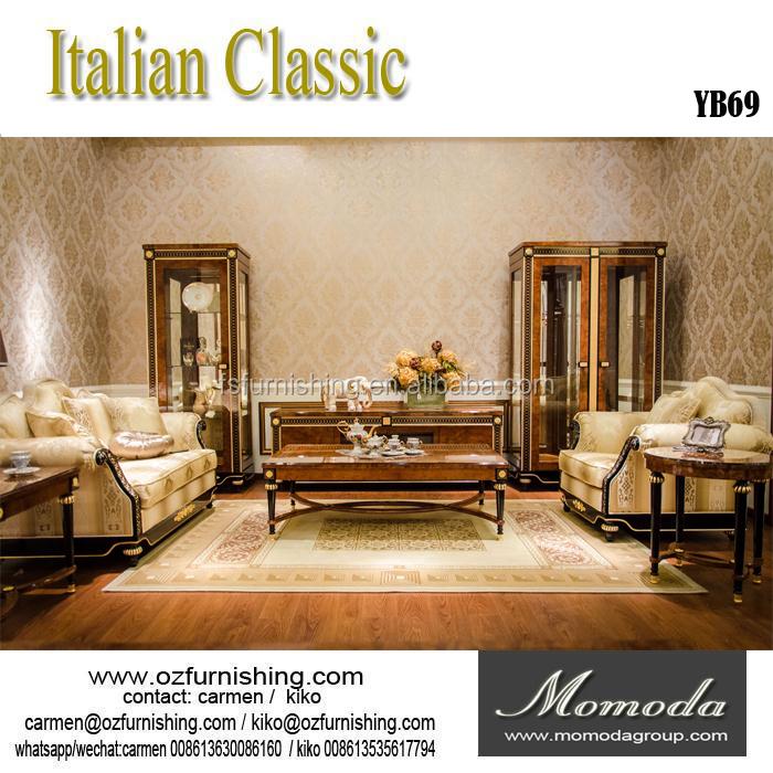yb69 momoda francese classica di lusso divano mobili/mano curve 3 ... - Mobili Soggiorno Di Lusso 2