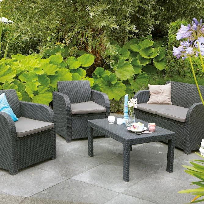 2015 Cheap Modern Garden Rattan Dining Furniture Patio