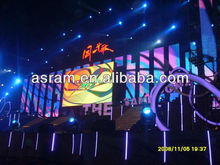 led mesh display curtain,High resolution stage background led display big board, hanging flexible soft led mesh curtain screen