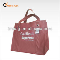 deft design non woven grocery bag