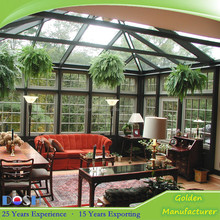 Factory direct concept aluminium garden SUN ROOMS/patio glass sun rooms