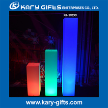 LED LIGHTED WEDDING PILLARS DECORATIVE LIGHTED COLUMNS