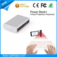High quality Bluetooth Laser Keyboard Fashion Infrared virtual keyboard and mouse