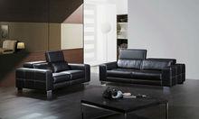 High back leather sofa combination of modern minimalist apartment 123 Sofa A301