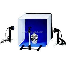 Progettato per cosmetici o batterie ricaricabili aa foto, ritratto stand testa della luce e fotografia di prodotti kit