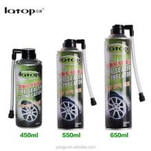 Tire sealer and inflator car repair tools tire repair spray tyre sealant