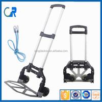 Protable Aluminum Foldable Luggage Trolley
