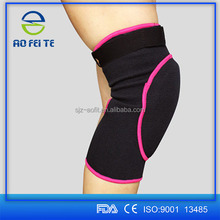 2015 New Products Adjustable Elastic Knee Support Brace Strap Wrap , Football Compression Knee Support