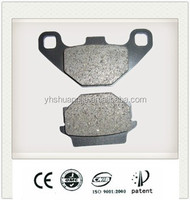Factory price FA67 Organic disc brake pad for Honda, Yamaha
