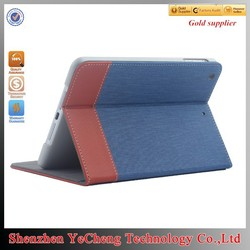 """hot new products for 2015 for ipad 2 10"""" tablet case with canvas"""