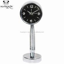 Unique cheap quartz metal sale spring clock