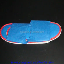 Non woven disposable slippers for hotel bedroom