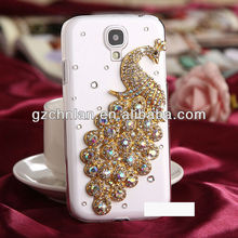 Peacock design diamond 3D case for iphone vners