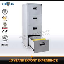 Hot style glazed powder coating 4 drawers file cabinet