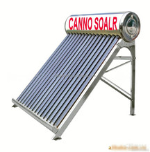 2015 new products 150L compact unpressurized Stainless Steel solar water heater solar air conditioning