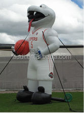 Inflatable Product Replicas/Inflatable basketball player