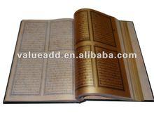 gold islam Holy Quran Book