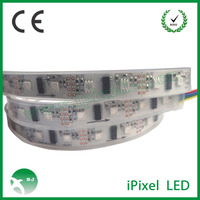 Individually Addressable DMXRGB LED Strip / Multi Color LED Strip Lights For Cars