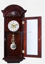 Meskill Vintage retro wooden wall alarm clock manufacturer