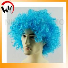 pure blue wig